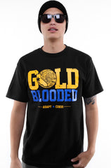 Adapt x Cukui - Gold Blooded Tribal Men's Shirt, Black - The Giant Peach - 1