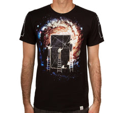 Imaginary Foundation - Golden Architecture Men's Shirt, Black - The Giant Peach - 1