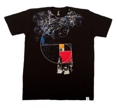 Imaginary Foundation - Golden Easel Men's Shirt, Black - The Giant Peach