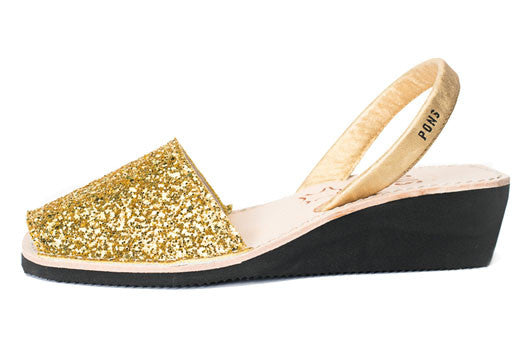 Pons Avarcas - Wedge Glitter - The Giant Peach - 3