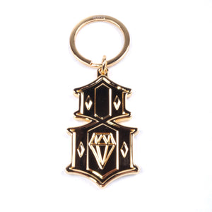 REBEL8 - Metal 8 Keychain, Gold - The Giant Peach