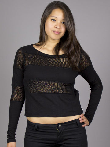 Eden by Element - Ingrid L/S Women's Top, Black