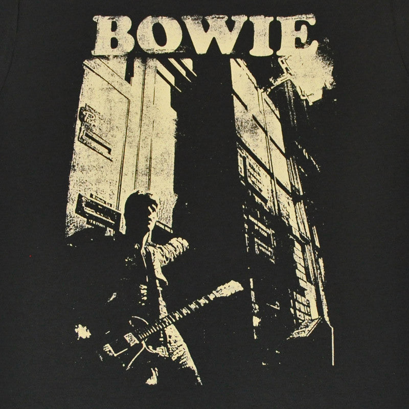 David Bowie - Guitar Men's Shirt, Coal - The Giant Peach