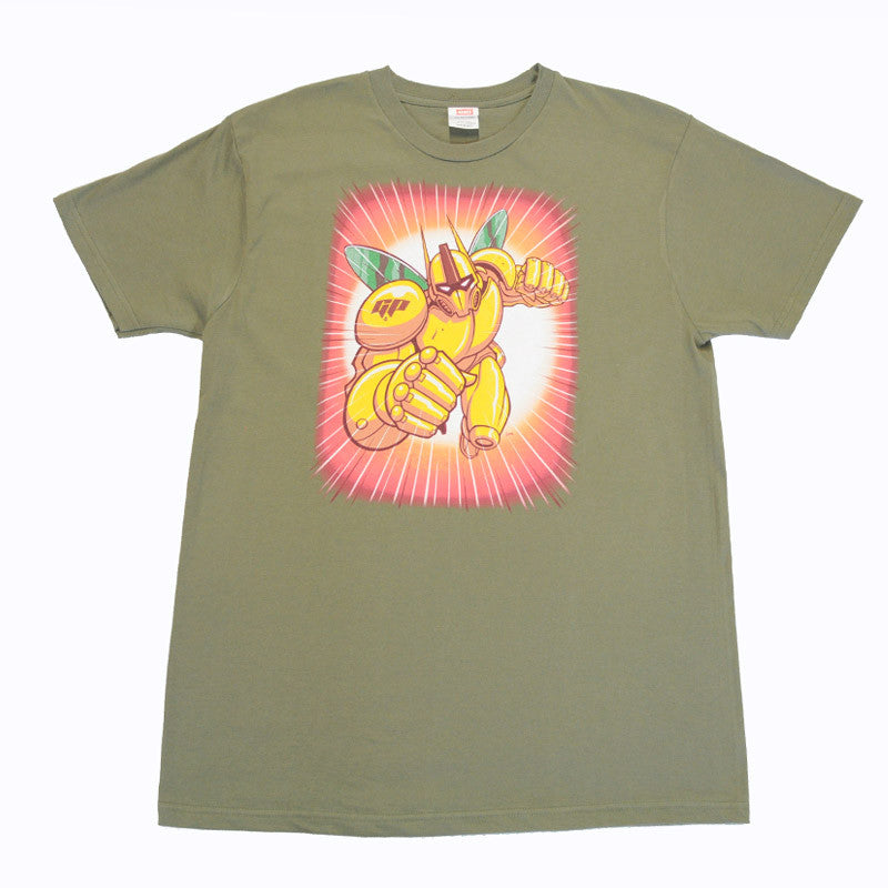 The Giant Peach - Robo Peach Men's Shirt, Fatigue - The Giant Peach