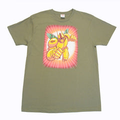The Giant Peach - Robo Peach Men's Shirt, Fatigue - The Giant Peach - 1
