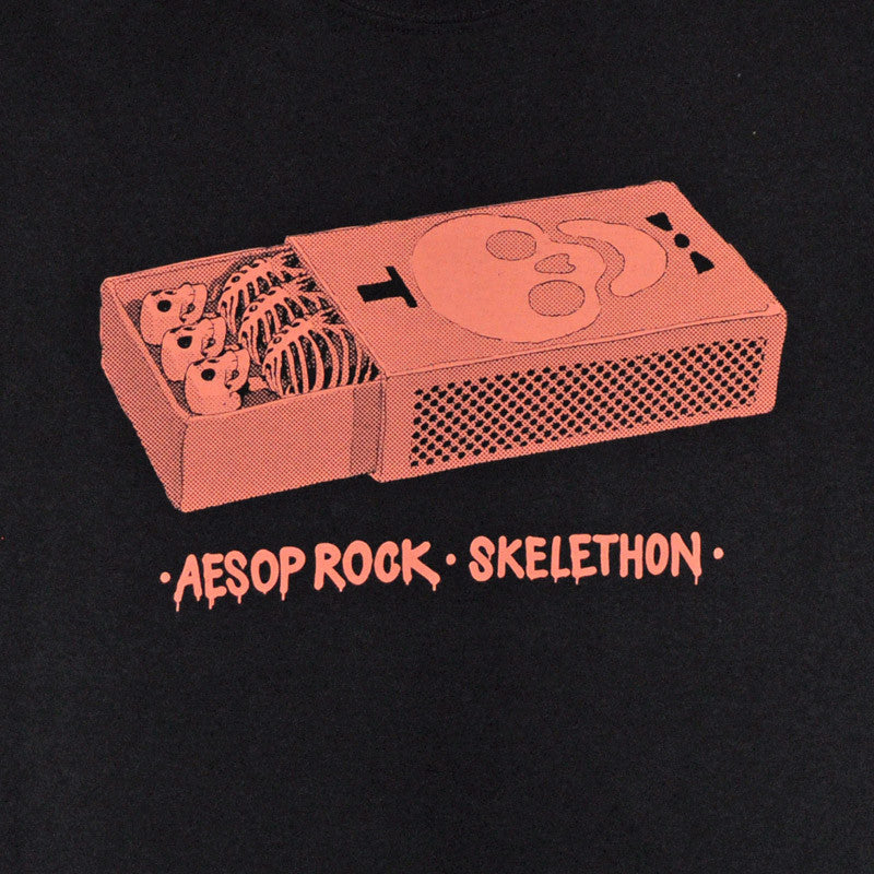 Aesop Rock - Matchbox Men's Shirt, Black - The Giant Peach - 2