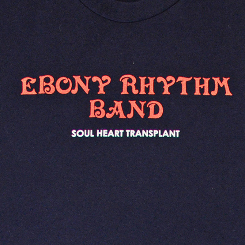 Ebony Rhthym Band Shirt, Navy - The Giant Peach