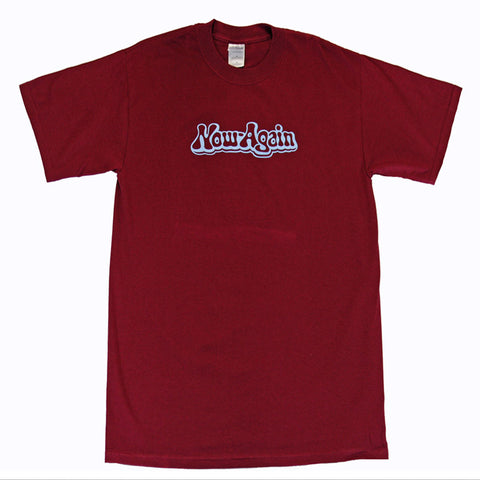 Now Again - Logo Shirt, Burgundy