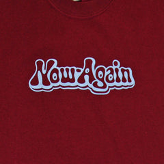 Now Again - Logo Shirt, Burgundy - The Giant Peach - 2