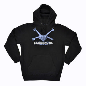 Cannibal Ox - Logo Hoodie, Black - The Giant Peach