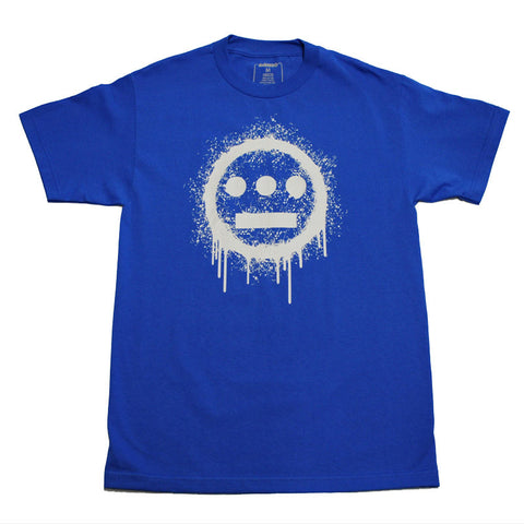 delHIERO - Splatter  Men's Shirt, Royal