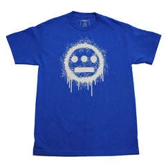 delHIERO - Splatter  Men's Shirt, Royal - The Giant Peach - 1