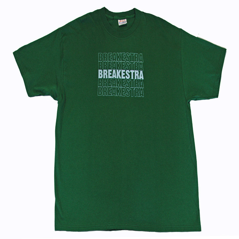 Breakestra - Logo Shirt, Forest - The Giant Peach - 3