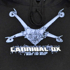 Cannibal Ox - Logo Hoodie, Black - The Giant Peach - 2