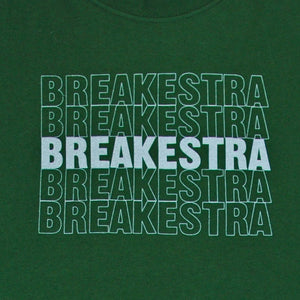 Breakestra - Logo Shirt, Forest - The Giant Peach
