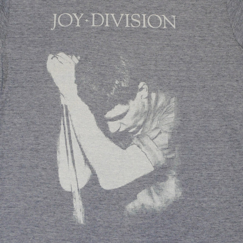 Joy Division - Ian Curtis Men's Shirt, Heather Navy - The Giant Peach - 2