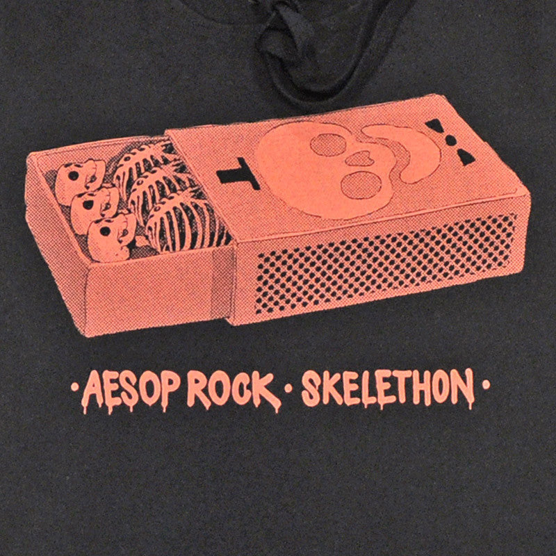 Aesop Rock - Matchbox Unisex  Hoodie, Black - The Giant Peach - 2
