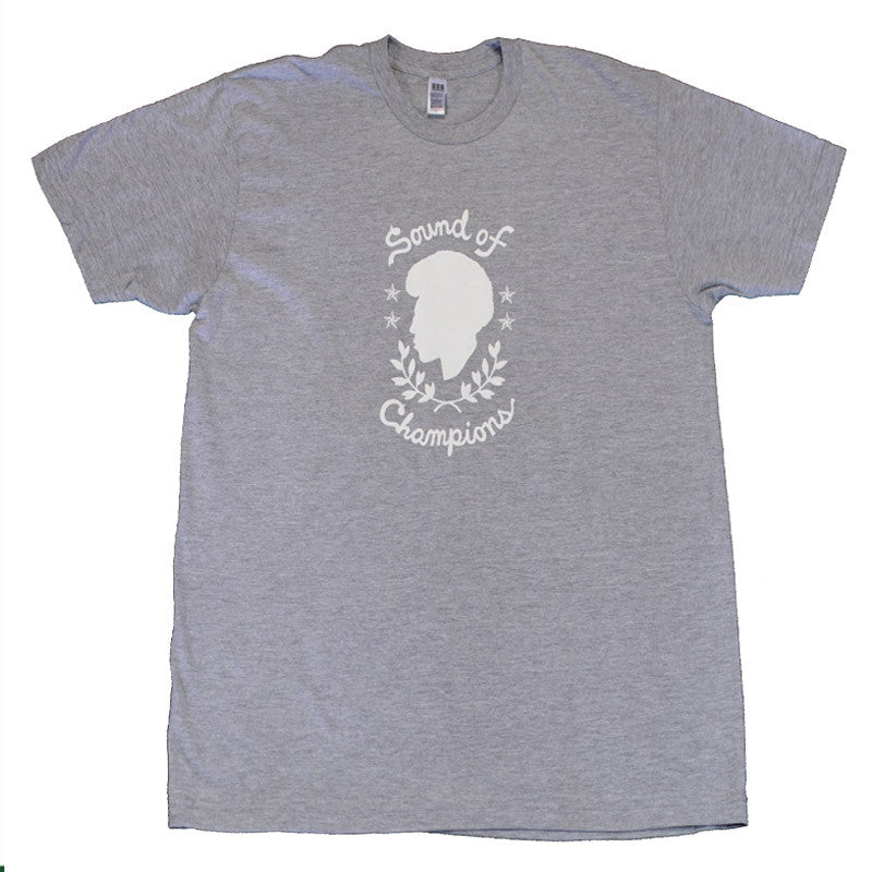 Now Again - Sound of Champions Shirt, Heather Grey - The Giant Peach - 1