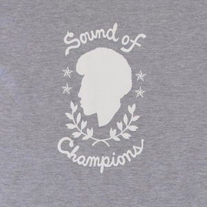 Now Again - Sound of Champions Shirt, Heather Grey - The Giant Peach