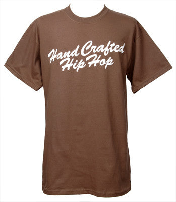 Embedded - Handcrafted Hip Hop Men's Shirt, Brown