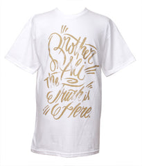 Rhymesayers - Brother Ali Truth Men's Shirt, White - The Giant Peach