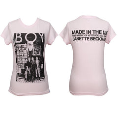 2K Janette Beckman - Boy London Women's Shirt, Pale Pink - The Giant Peach