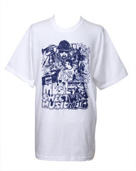 Wax Poetics - Sweet Music Men's Shirt, White - The Giant Peach