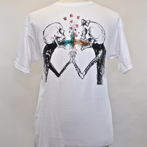 FIFTY24SF Gallery - Alex Pardee Vomit Love Men's Shirt, White