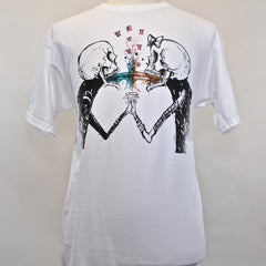 FIFTY24SF Gallery - Alex Pardee Vomit Love Men's Shirt, White - The Giant Peach