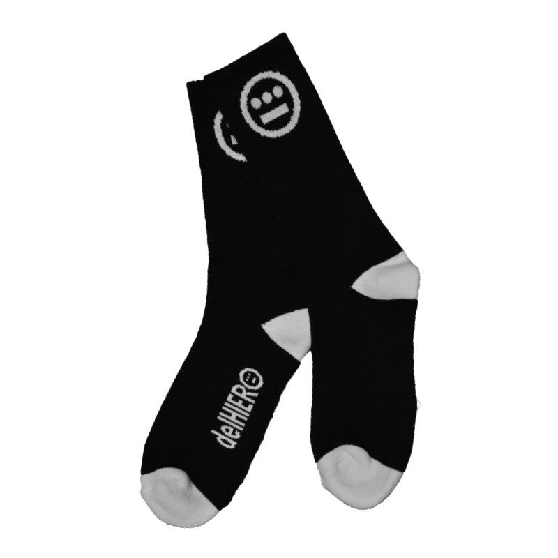 delHIERO - Hiero Socks, Black/White - The Giant Peach