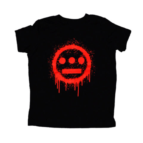 delHIERO - Splatter Kid's Tee,  Black