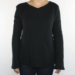 Insight - All Meshed Up Women's Sweater, Floyd Black - The Giant Peach