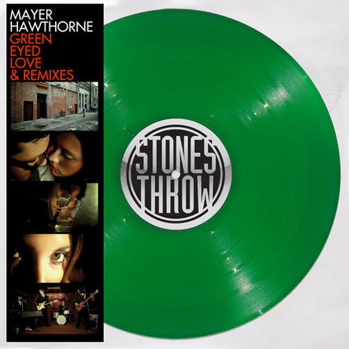 "Mayer Hawthorne - Green Eyed Love Remixes, 12"" Vinyl (Limited Green Vinyl) - The Giant Peach"