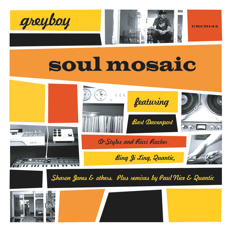 Greyboy - Soul Mosaic, CD - The Giant Peach
