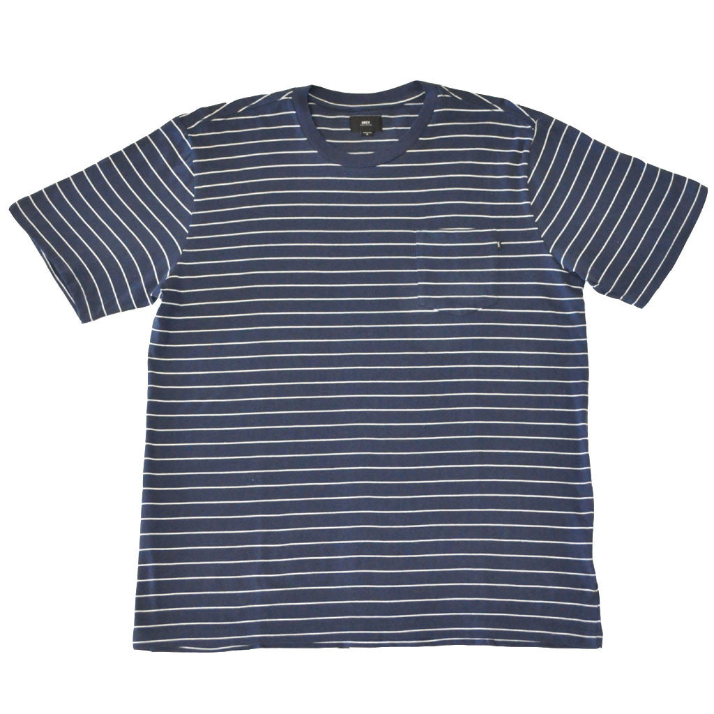 OBEY - Group Men's Pocket Tee, Navy Multi - The Giant Peach