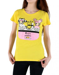 tokidoki x gudetama - Gudetama Sushi Women's Tee, Yellow - The Giant Peach