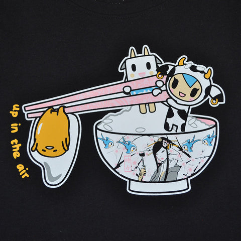 tokidoki - Gudetama Air Women's Tee, Black