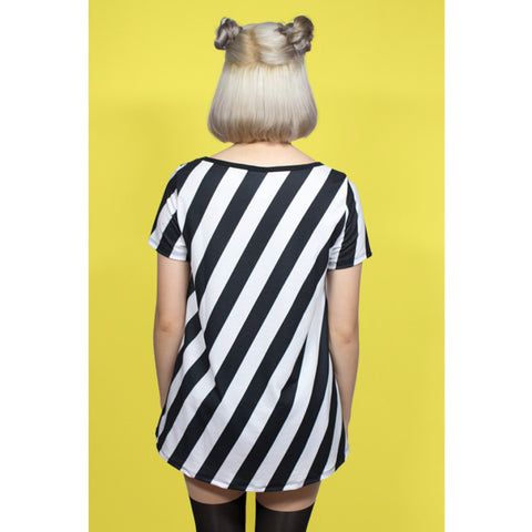 JapanLA x Gudetama - Lazy Striped Women's Top