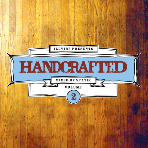 Illvibe Collective - Handcrafted Volume 2, Mixed CD