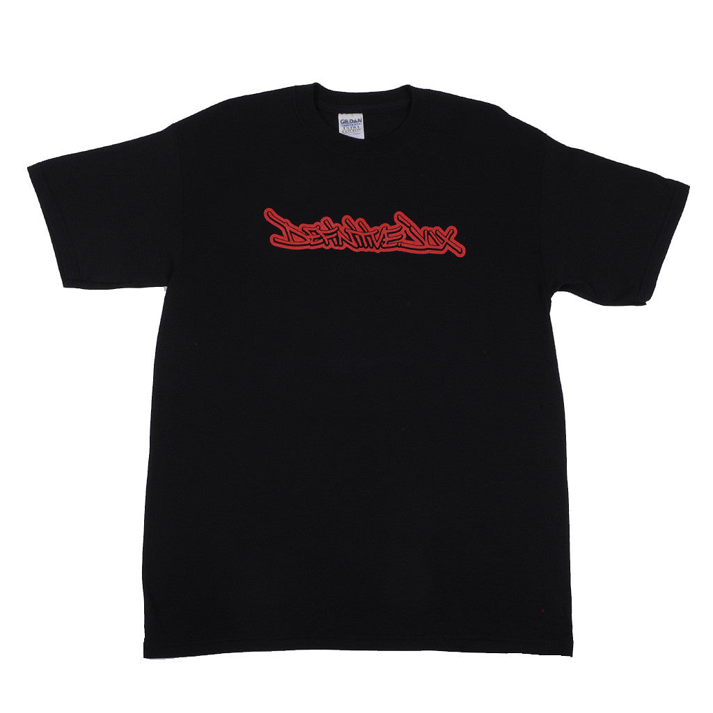 Definitive Jux - Handstyle Shirt, Black - The Giant Peach - 1