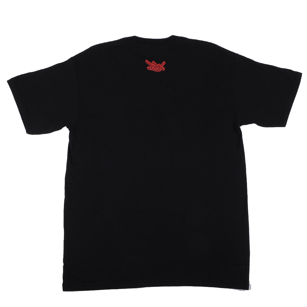 Definitive Jux - Handstyle Shirt, Black - The Giant Peach - 2