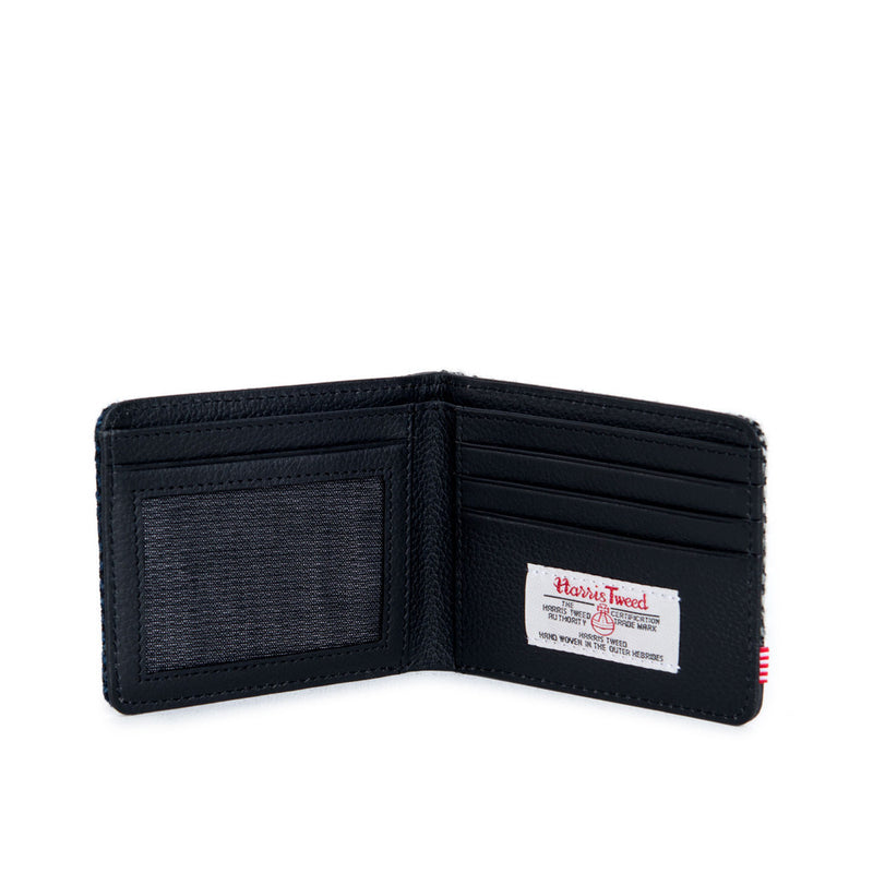 Herschel Supply Co - Hank Herringbone Wallet, Black/Blue - The Giant Peach