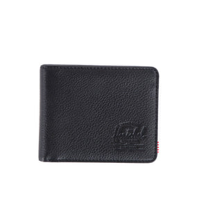 Herschel Supply Co - Hank Leather Wallet, Black Pebble - The Giant Peach