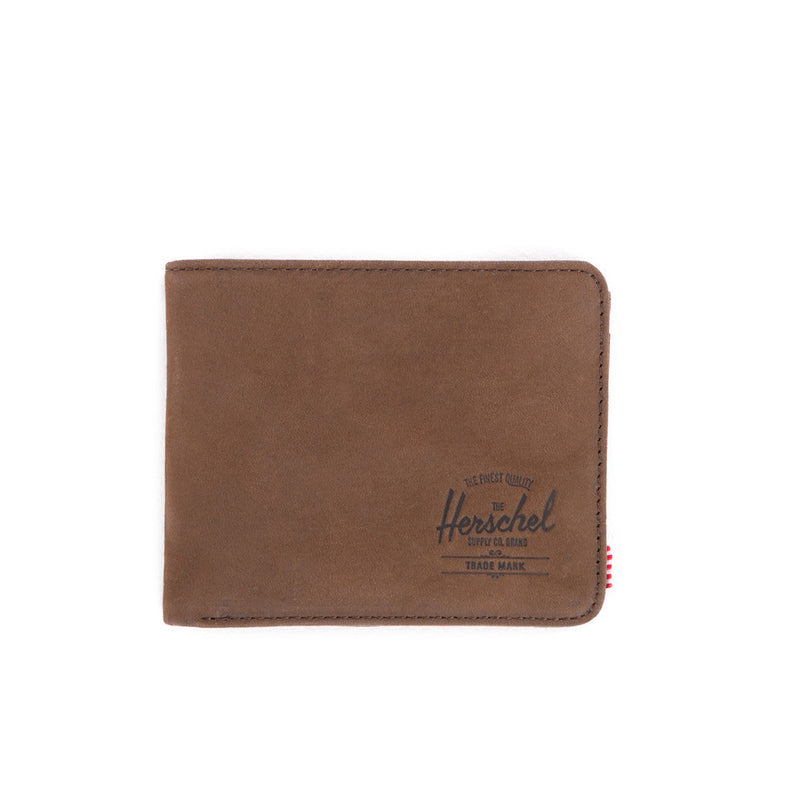 Herschel Supply Co - Hank Leather Wallet, Nubuck Leather - The Giant Peach