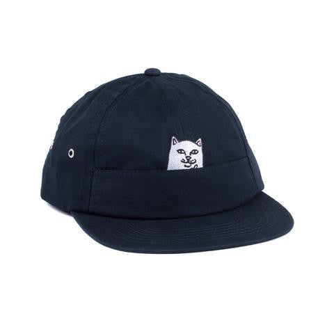 RIPNDIP - Nermal Pocket 6 Panel Hat, Navy - The Giant Peach