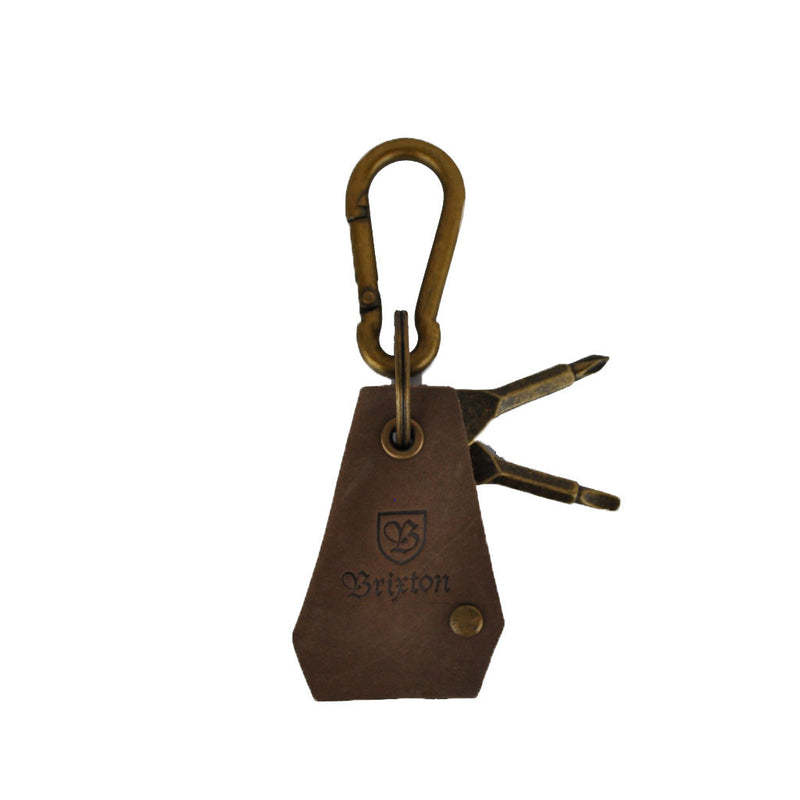 Brixton - Haven Keychain, Antique Bronze - The Giant Peach