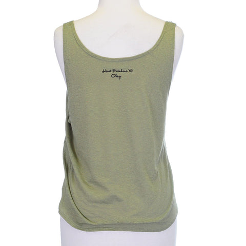 OBEY - 89 Heartbreakers Women's Break Up Tank, Dried Herb