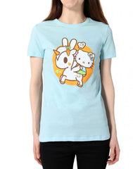 tokidoki x Hello Kitty - Hello Usagi Women's Tee, Blue