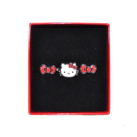 Loungefly - Hello Kitty Bow & Head 2-Finger Ring