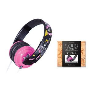 BiGR x HELLZ - Reference Headphones XL-HB1 - The Giant Peach